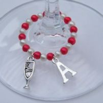 Drink Wine Glass Charms